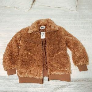 Teddy Sherpa bomber jacket - the SOFTEST!